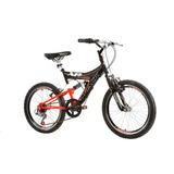 Bicicleta Aro 20 Xr 20 Juvenil Suspensão Dupla - Track Bikes