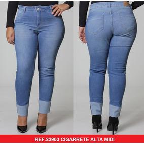 ac4580acf Calça Jeans Plus Size Feminina Biotipo - Calças Jeans no Mercado ...