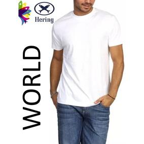 Camiseta Basica Hering Gola Careca - Camisetas no Mercado Livre Brasil c3802196f131e