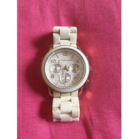 5045edc089145 Relogio Feminino Emborrachado Mk - Relógios De Pulso no Mercado ...