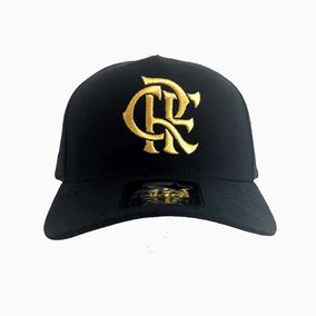 Boné Flamengo Crf Bordado Gold Starter Un