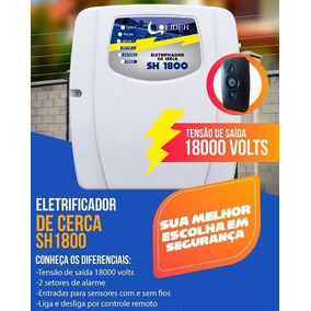 Central De Cerca Elétrica Sh 18000 Volts Líder