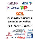 Passagens Aéreas Com Milhas - Economize!