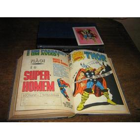 Album Gigante Thor Nºs 0 Ao 32 Ebal 1967 Completo Original