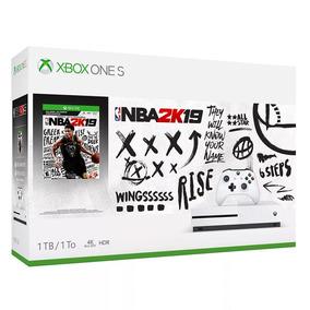 Console Microsoft Xbox One S 1tb + Nba 2k19