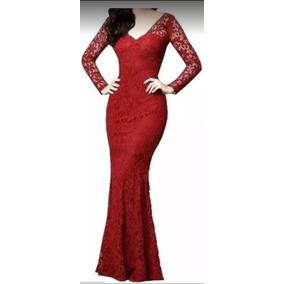 4b78e5b8bfd56 Vestidos De Madrinha Femininas Vermelho em Minas Gerais no Mercado ...