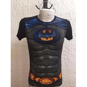 Playera Superheroe Batman Deportiva Talla M