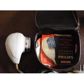 Afeitadora Antigua Phillipshave, 60´s 70´s C/estuche