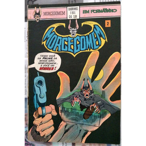 Quadrinhos Ebal - Morcegomen Número 2 Em Cores Ler Descrição