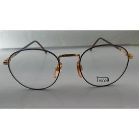 30c904b51ee24 Óculos  receituário Metal Redondo  vintage  tecnol 26r