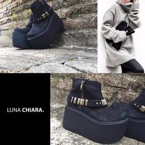 Zapatos Con Plataforma Y Flecos Luna Chiara - Zapatos en Mercado ... 29d2425f087