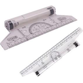 Kit Desenho 02 Rolling Rulers 01 30cm 01 Baby 14cm