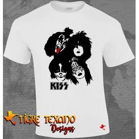 Playera Bandas Kiss Modelo 03 By Tigre Texano Designs