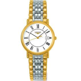 Longines Presences White Dial Two-tone Watch L47202117