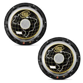 02 Alto Falantes Eros E-612 Mg 600w Rms 8 Ohms