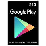 Tarjetas Google Play $10 - $100 Gift Card Usa