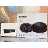 Auto Estéreo Sony Dsx-a100u Usb Con Bocinas 6x9 B1