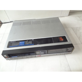 Video Cassete Sony Betamax Sl-30md
