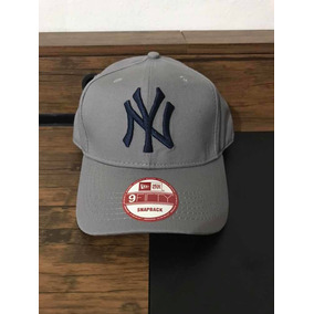 Gorra New Era Snapback New York Yankees Gris 163db1f63cc