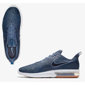 new style 954c4 8a031 Tenis Nike Air Max Sequent Azul Hombre Urban Originales 100%