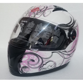 Casco Cerrado Para Dama Faseed Fs-807 Ardent Pink Rider One