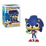 Funko Pop Sonic Con Esmeralda-minijuegos