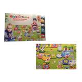 Kidz Time Alfombra De Juegos Con 4 Autitos Para Bebe Niños