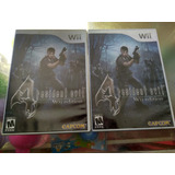 Juego De Wii Original,resident Evil 4 Wii Edition, 70mil C/u