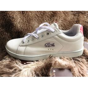 77f2b71d03f Tenis Lacoste Feminino Mulher Sapatos - Sapatos no Mercado Livre Brasil