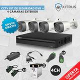 Cctv Kit2 Dahua 720p De Seguridad Xvr 4ch+4 Cam Envio Gratis