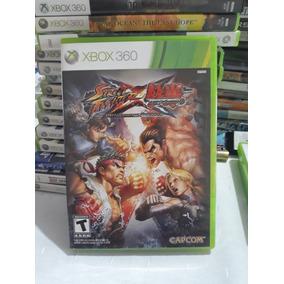 Street Fighter Vs Tekken Xbox 360 Mídia Física