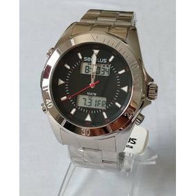 Relógio Masculino Seculus Digital Ponteiro 28803gosvna1.