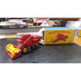 Miniatura Matchbox Claas Combine Marvester - Caixa Original