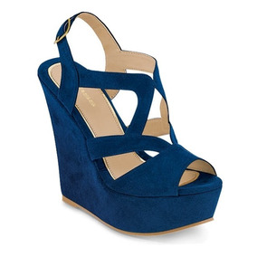 47c13662 Zapatos De Gamuza Con Agujeta Para Mujer - Zapatos para Niñas Azul en Mercado  Libre México