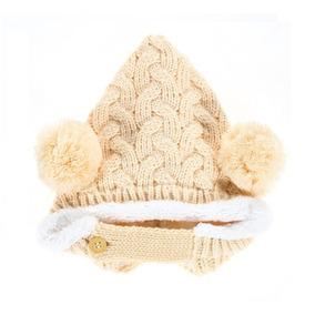 Touca Forrada Pompom Bebê Gorro Inverno Criança Fashion A 2 · 3 cores b196e644516
