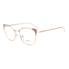 3d5a98e37e955 Armacao De Oculos Grau Prada Feminino Armacoes - Óculos no Mercado ...