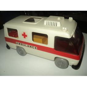 Brinquedo Troll-playmobil-ambulancia-raro Anos 80