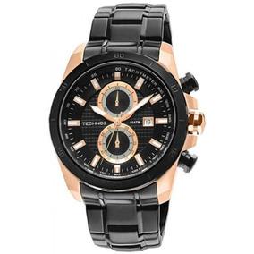 Relógio Technos Masculino Classic Grandtech Os11aq/1p. Preto