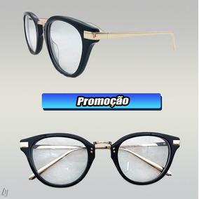 f85b6d626428c Oculos Redondo Medio - Óculos no Mercado Livre Brasil