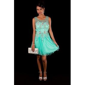 Vestido verde de 15