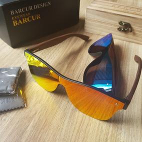 2b0baf878eee9 Oculos Madeira Espelhado De Sol - Óculos no Mercado Livre Brasil