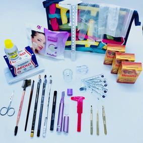 Kit Para Designer De Sobrancelha Profissional 100% Completo
