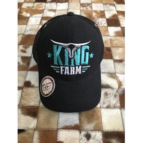 Bone King Farm Aba Curva - Bonés no Mercado Livre Brasil fa6ebf35a7dd2