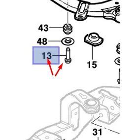 Parafuso Do Agregado Do Motor Astra Vectra