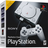 Sony Playstation Classic 1 Mandos+ 20 Juegos Disponibilidad!