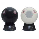 f1ef8510e3 Mini Caixa De Som Rádio Bola De Futebol Corinthians Branco
