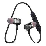 Audífonos Bluetooh Sports Magnetico Estereo Con Microfono
