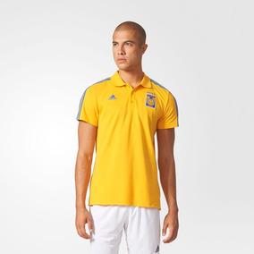 a1046c921bad0 Playera Polo Tigres Adidas De Coleccion Talla Mediana en Mercado ...