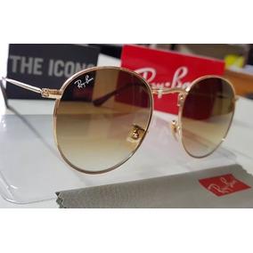 Oculos Rayban Redondo Marrom - Óculos no Mercado Livre Brasil 8e90498f6c