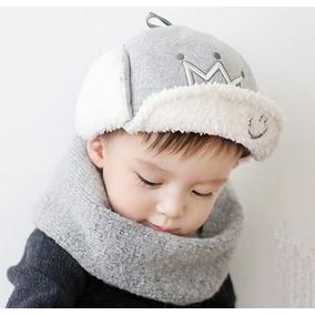Inverno Gorro Touquinha Menino Príncipe Bebe Touca Frio. 470ebe4f67f